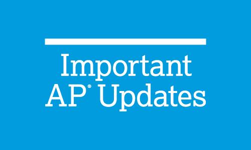 Breaking News: Dates and Format for This Year's AP Exams.